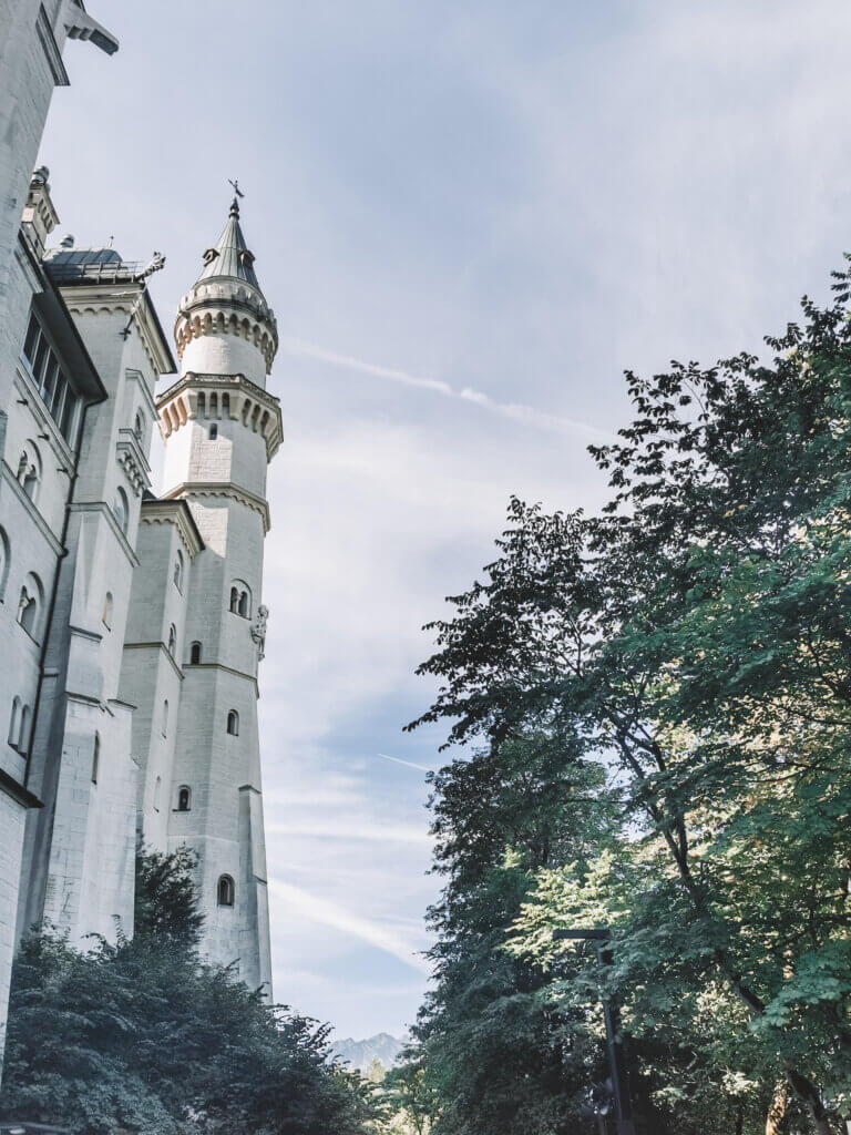 Kasteel Neuschwanstein close up