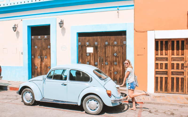 Beetle car in Mexico